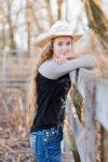 Senior Spotlight (Jenna Cutshaver Track and Field)