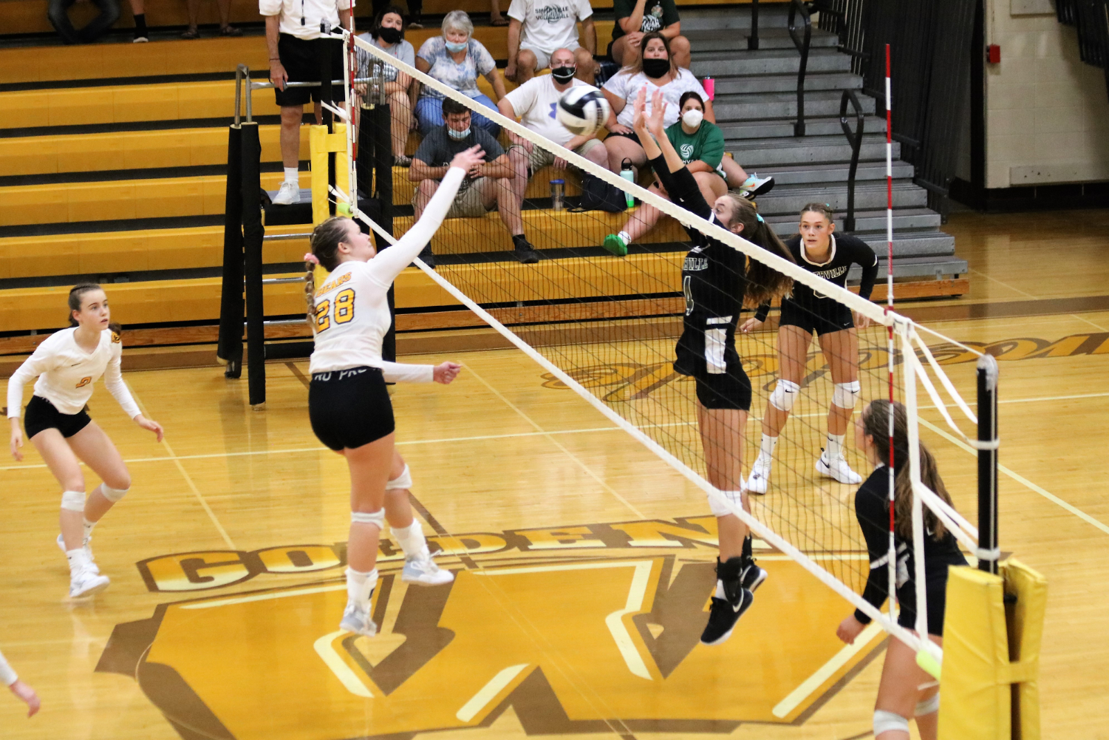 Waynedale Volleyball vs. Smithville 9/10/20