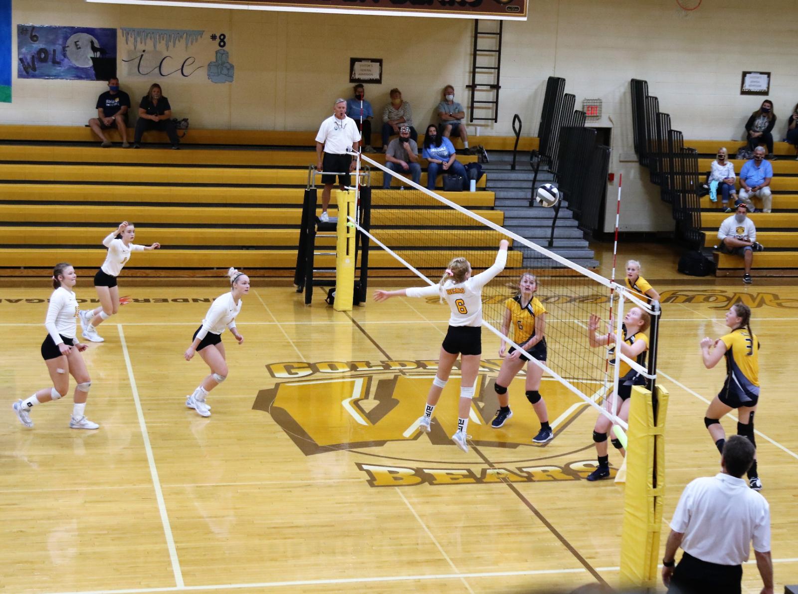 Waynedale Volleyball vs. Hillsdale 9/15/20