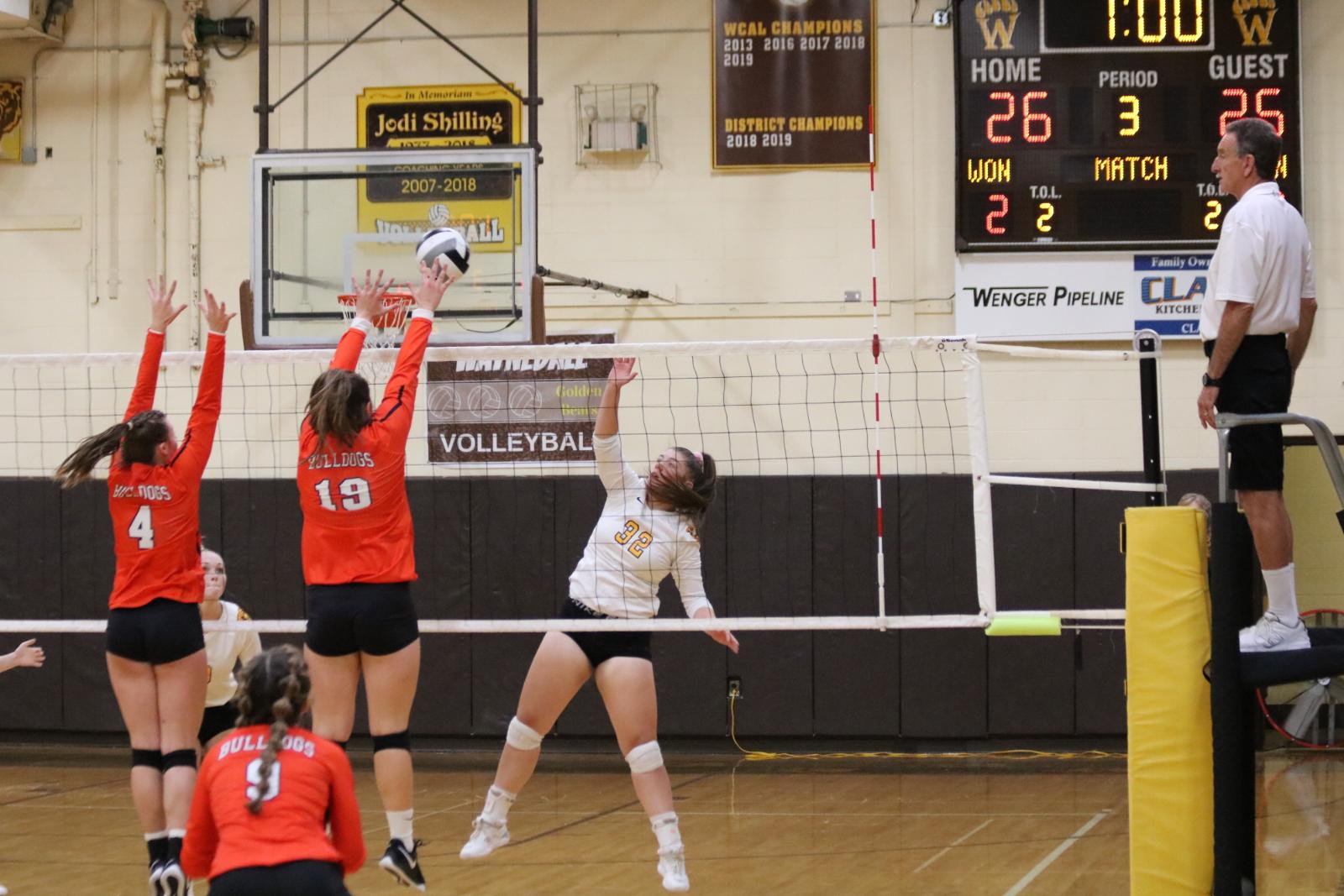 Waynedale Volleyball vs. Dalton 9/22/20