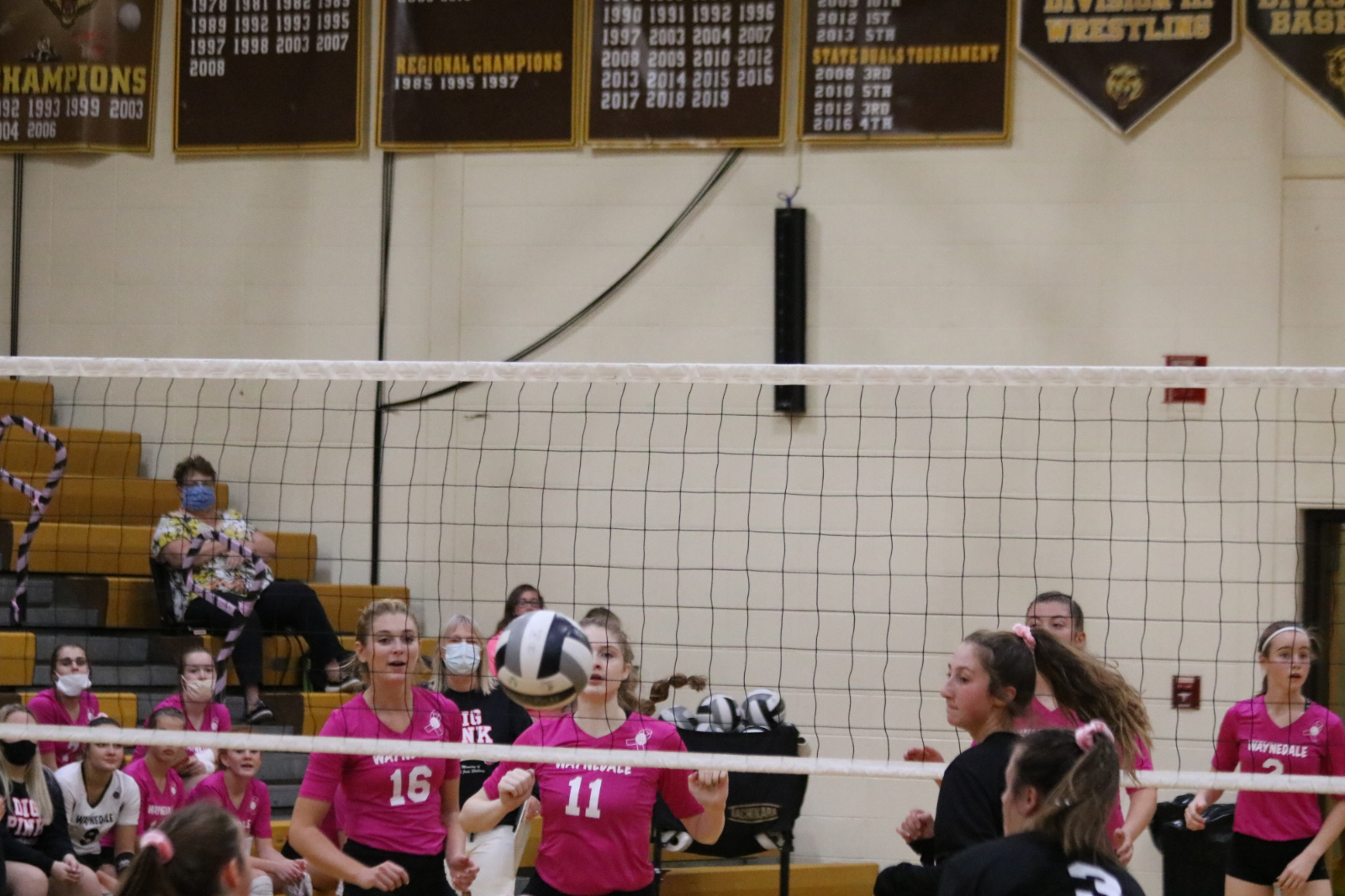 Waynedale Volleyball vs Chippewa (Dig-for-Pink Game) 9/29/20