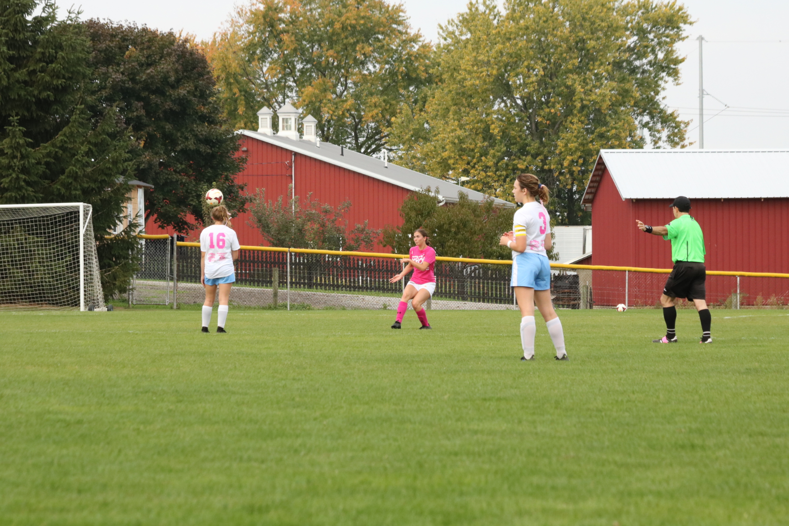 Waynedale Girls Soccer vs. Hillsdale (Kick-for-the Cure Game) 10/10/20