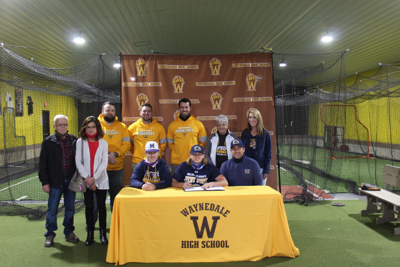 Jaden Varner Signs to Play Baseball at Kent State