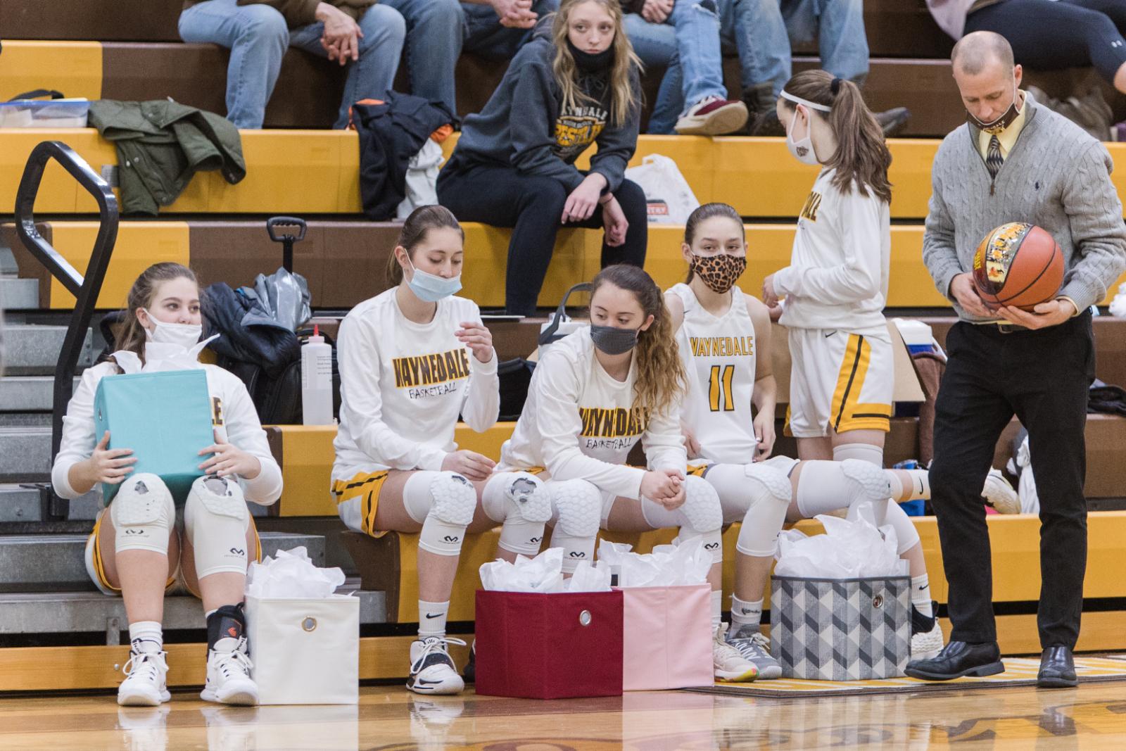 Waynedale Girls Basketball SENIOR NIGHT vs. Northwestern Varsity game 1/30/21