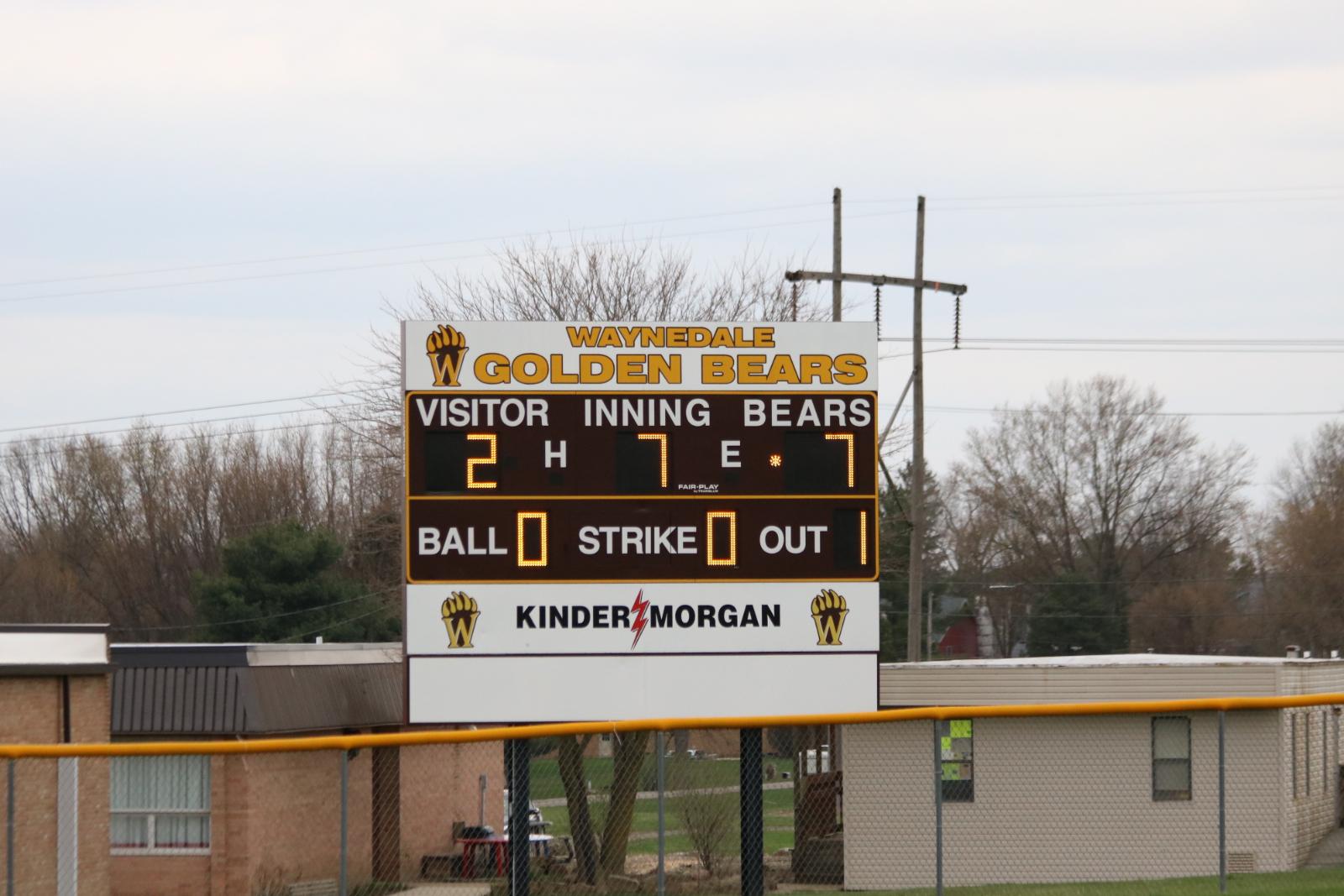 Waynedale Varsity Baseball vs. Chippewa 3/31/21