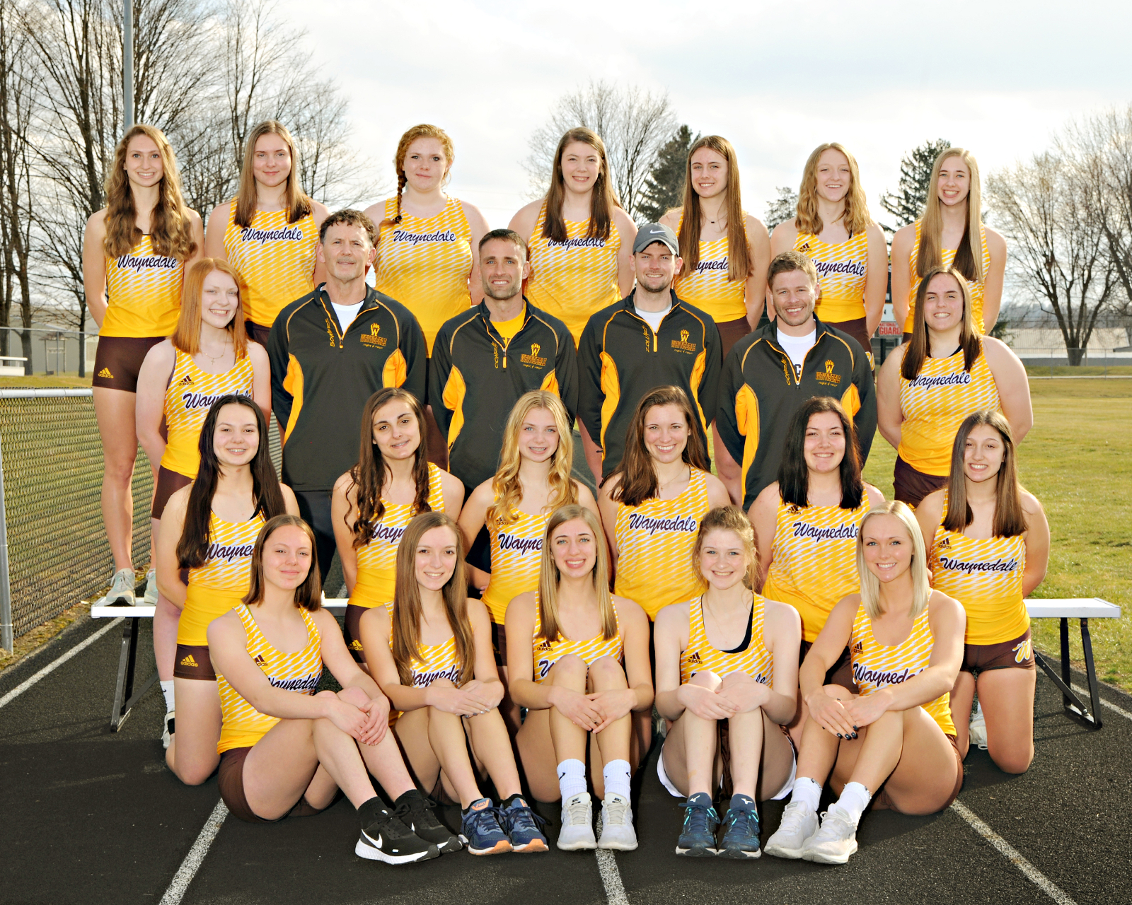 Waynedale Girls Track and Field Take First in Bob Valentine Invitiational