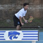Tennis Boys—Wildcats slip past Father Ryan  5-4 as Senior Sean Moran clinches win with victory. Team now prepares for district tournament this week