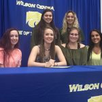 Volleyball–Loren Schmitt signs with Mississippi University For Women……
