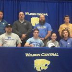 Wrestling—Wildcat Sean Sesnan signs with Williams Baptist in Walnut, Arksansas
