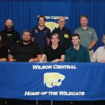 Swimming—Ethan Gordan signs with Roanoke College—Salem Virginia