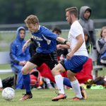 "Soccer–Wildcats storm past Lebanon 4-1.  Senior James Graham scores ""perfect hat trick"""