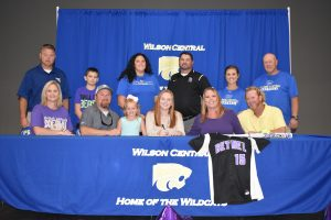 Signing Softball