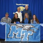 Lady Wildcat Softball–Senior Kaylee Richetto reaches her dream–Signs Athletic Scholarship to play for MTSU Lady Blue Raiders