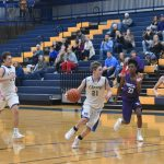 Winter–Freshmen Basketball–Boys team starts off season with big 69-27 win over Portland