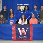 Spring–Softball– Lady Wildcat Alaina Morris signs Softball Scholarship with Walters State