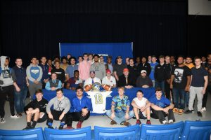 FOOTBALL–PHOTO GALLERY–WILSON CENTRAL HS NATIONAL SIGNING DAY 2019