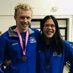 Winter–Swimming–Wildcat Swimmers  Blaine Robinson and Mia Harris Finishes 11th and 12th at State Meet
