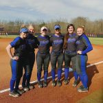 Spring–Softball–Senior pitcher Sidney Link Holds Lady Commandos to One Hit in 15-0 Victory