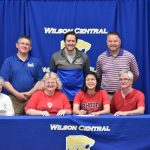 Swimming–MIA HARRIS signs with Rhodes College