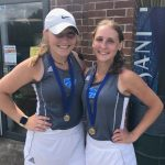 Spring–TENNIS– Doubles Tandem of Seniors Sydney Miller and Savannah Westbrook win Regional Crown. Will play in State Tournament next week.