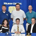 Spring–BASEBALL–Cole Ferguson inks with Centre College