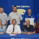 Spring–Baseball–Hayden Baker Signs Scholarship Papers to Play Baseball at Cumberland University