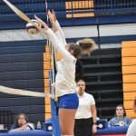 Fall–Volleyball–Lady Cats Inch Past Lady Commanders in Three Close Sets.  To Play LaVergne Today Aug 27