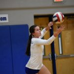 Fall–Volleyball–Lady Cats Suffer Close Loss to Siegel
