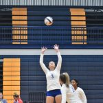 Fall–Volleyball–Lady Cats Move 7-1 after Comeback Win over Smyrna