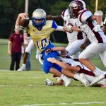 Fall–Freshman Football–Freshman Wildcats Continue Undefeated Streak with Win over Station Camp 42-21