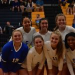 Fall–Volleyball–Lady Cats Clinch Regular Season District Title on Senior Night