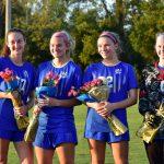 Girls Soccer Senior Night 10/3