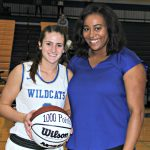 Winter– Girls Basketball– Lady Wildcats Win Season Opener over Springfield as Sydnee Richetto is honored for her 1000th point last season