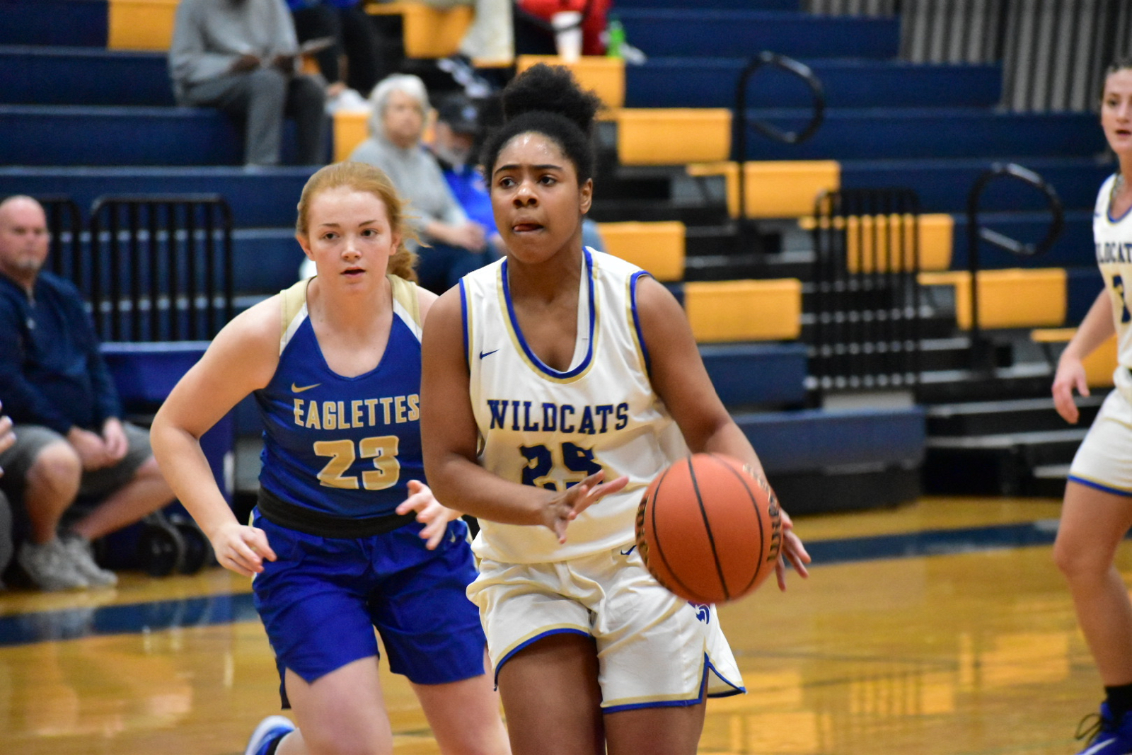 Winter– Girls Basketball– Lady Wildcats Defeat Shelbyville 54-44.  To Play Monday at Stewarts Creek 6:00pm