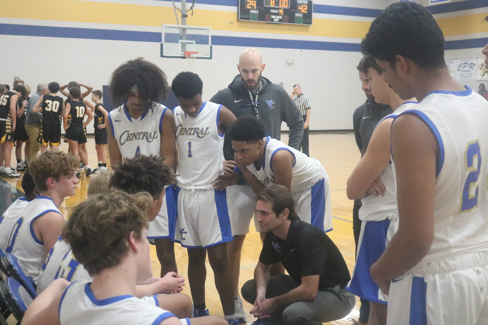 Winter–Freshman Boys' Basketball–Wildcats Suffer Loss In Season Opener To Hendersonville 60-45