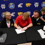 Spring–Baseball–Standout Nick Baker signs with Bryan College.