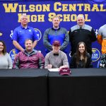 Fall–Football–Wildcat Bret Robinson Celebrates Signing Day –to play at Cumberland University Lebanon
