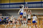 """Fall-Volleyball–Lady Wildcats Win Over Lebanon in 3-1–District """"Spike""""Battle"""