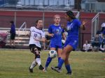 Fall–Girls' Soccer–Lady Cats Come up Short in District Tournament 4-3 vs. Smyrna
