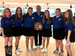 Winter–Bowling Girls–Lady Wildcats Claim District Runner-up Plaque.  Advance to Regionals.