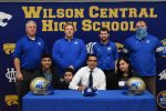 WCSN—-Senior Wildcat Kerolos Shendoua Signs with Tennessee State University.