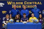 WCSN—Senior Wildcat Receiver Ezra Widelock signs with Tennessee Tech University.