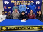 Spring–Soccer– Matthew Jones Signs with St. Louis University–Madrid, Spain.