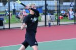 Spring–Tennis–Wildcats Fall to Strong Station Camp Team 5-2; Girls Lose 4-3