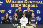 Spring–Tennis–A.J. Hughes Signs Scholarship with Asbury University, Wilmore, Ky