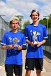 Spring–Tennis–Wilson Central finishes Individual District Tournament