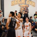 Los Gatos High School Boys Varsity Basketball beat Leigh High School 71-64