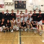 Los Gatos High School Boys Varsity Basketball beat San Mateo High School 56-44