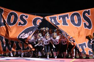 Varsity Football at Saratoga – 9/20/19