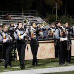 LGHS Marching Band takes 3rd place in first competition